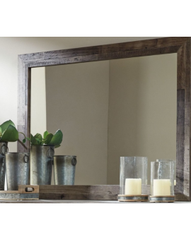 Derekson Gray Bedroom Mirror