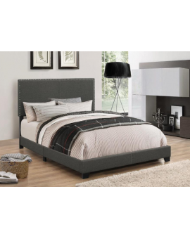 King bed size grey by Coaster