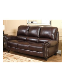 VENICE Leather Sofa Recliner