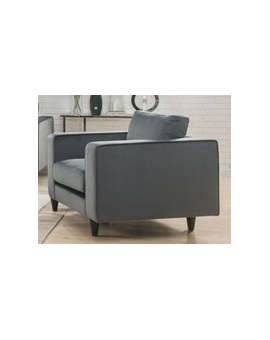 Acme Grey Velvet Chair