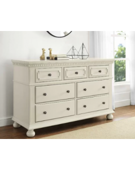 Vernay 7 Drawer Double Dresser