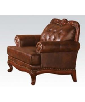 Tri-Tone Brown Leather...