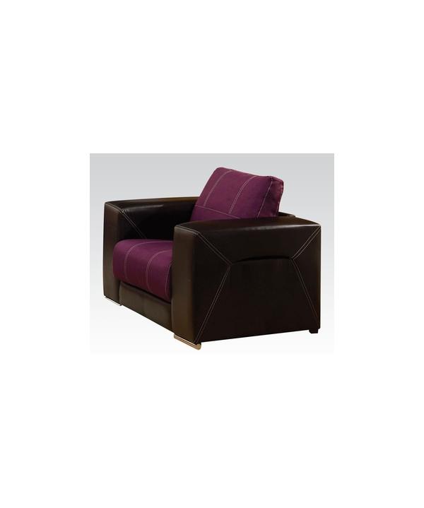Astounding Modern Chair Brayden Purple By Acme Furniture Ac51682 Andrewgaddart Wooden Chair Designs For Living Room Andrewgaddartcom