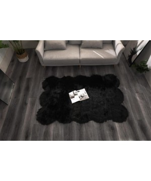 Large Shaped Faux Fur Rugs