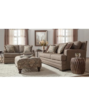 10100 CANYON BUCKHORN SOFA...