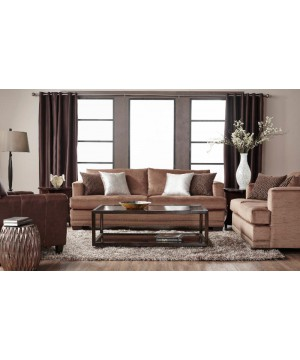 13325 EMPIRE TOFFEE SOFA...