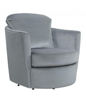 Casual Grey Swivel Accent...