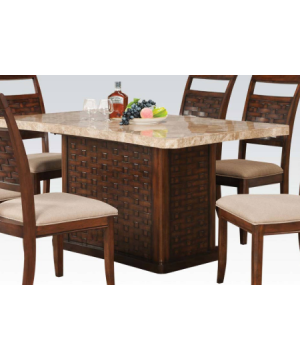 Furniture Maite Marble Top...