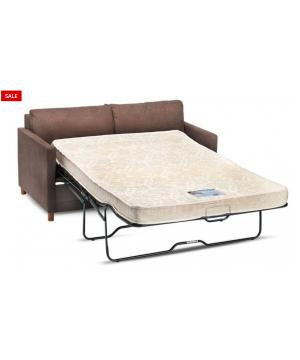 Softee Brown Sofa Bed