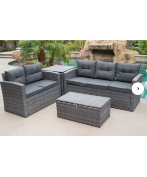 Rowley Patio Sectional with...