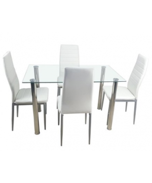 Modern Style Dining Set of 5