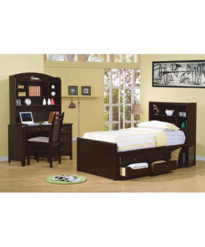 Phoenix Twin Bookcase Bed