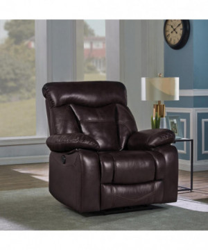 Zimmerman Dark Brown Faux...