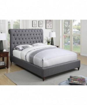 Devon Grey Upholstered Full...