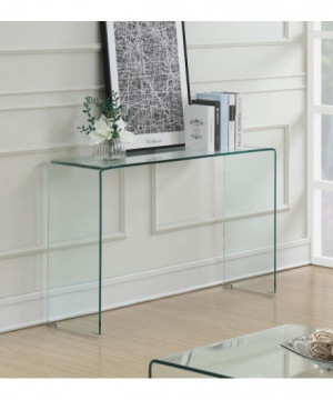 Contemporary Clear Sofa Table