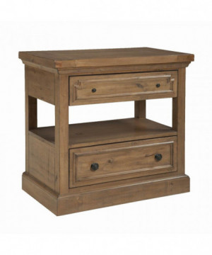 Florence Rustic Two-Drawer...