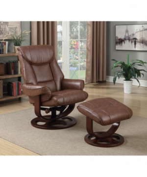 Transitional Chestnut Chair...