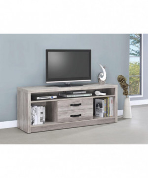 Modern Grey Driftwood TV...