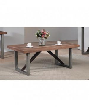 Industrial Walnut Coffee Table