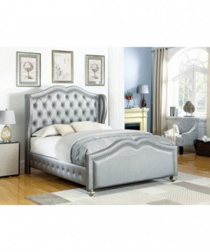 Belmont Grey Upholstered...