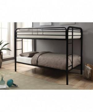 Morgan  Black Twin Bunk Bed