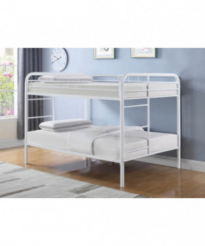 Morgan  White Full Bunk Bed
