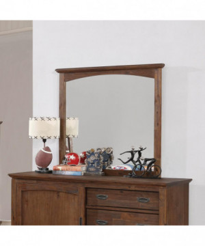 Kinsley Country Brown Mirror