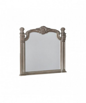 Jenna Vintage Grey Mirror