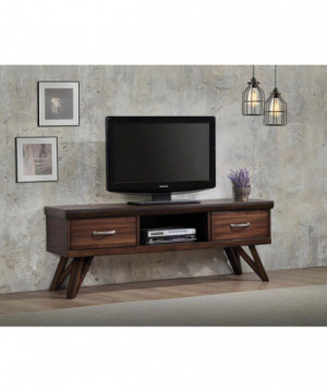 "Rustic Walnut 60"" TV Console"
