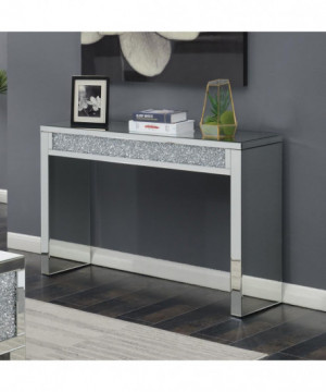 Contemporary Silver Sofa Table