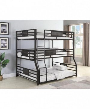 F / Txl / Q Triple Bunk Bed
