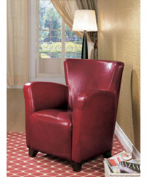Transitional Red Faux...
