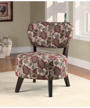Casual Upholstered Accent...