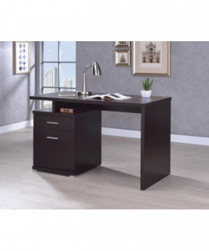 Office Desk with Drawer in...