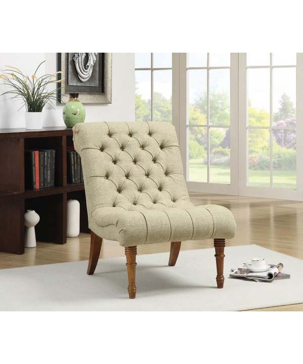 Oversized Accent Chair Green Transitional: Casual Mossy Green Accent Chair