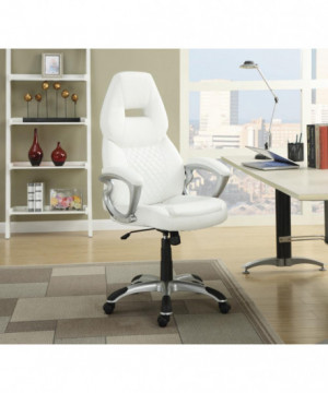 Contemporary White Office...