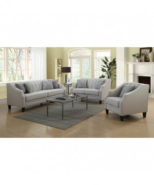 Loxley Traditional Grey Sofa