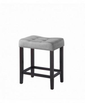Casual Grey Upholstered...