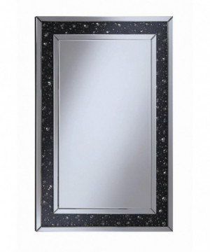 Contemporary Black Wall Mirror