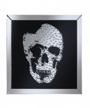 Contemporary Black Skull...