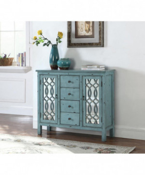 French Country Antique Blue...