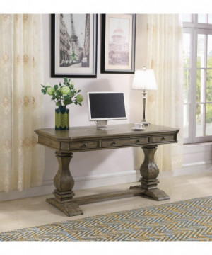 Rustic Oak Writing Desk
