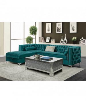 Bellaire Contemporary Teal...
