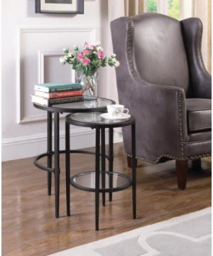 Matte Black Nesting Table