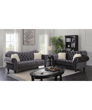 GRACIE Sofa + Loveseat in...