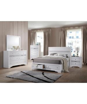 5-pieces Queen Bedroom Set...