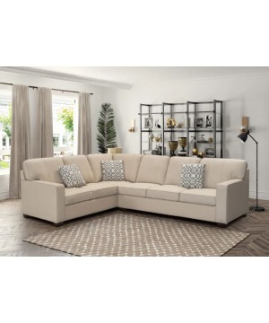 CORA Sectional Ivory - not...