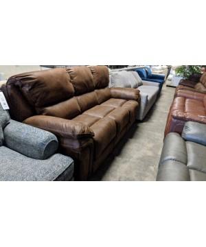 Brown Queen Sleeper Sofa -...