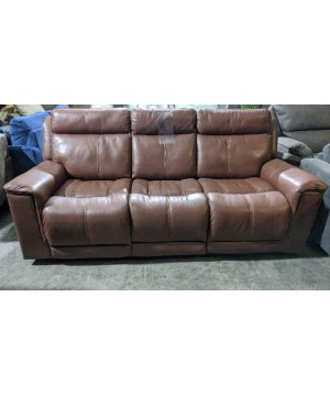 Brown Power Reclining Sofa...