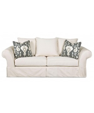 "White Linda Sofa - ""A Stock"""